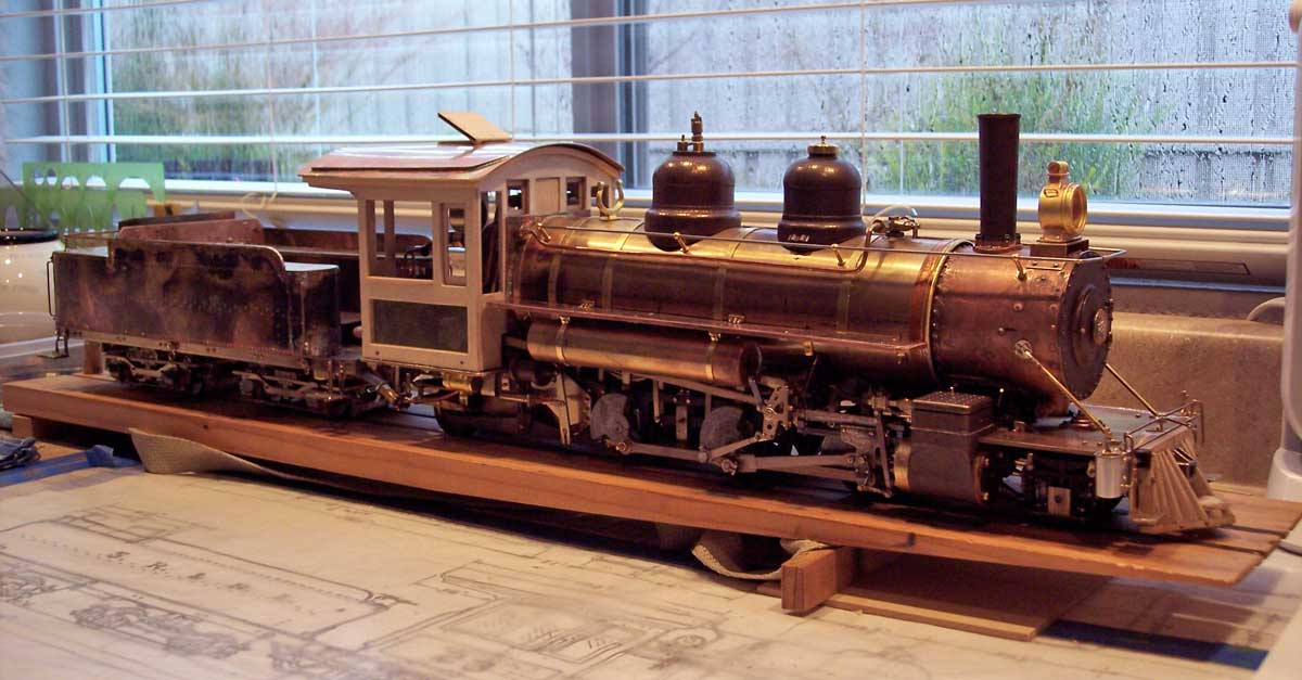 May 2016 The Largest 2 Foot Gauge Steam Locomotive To