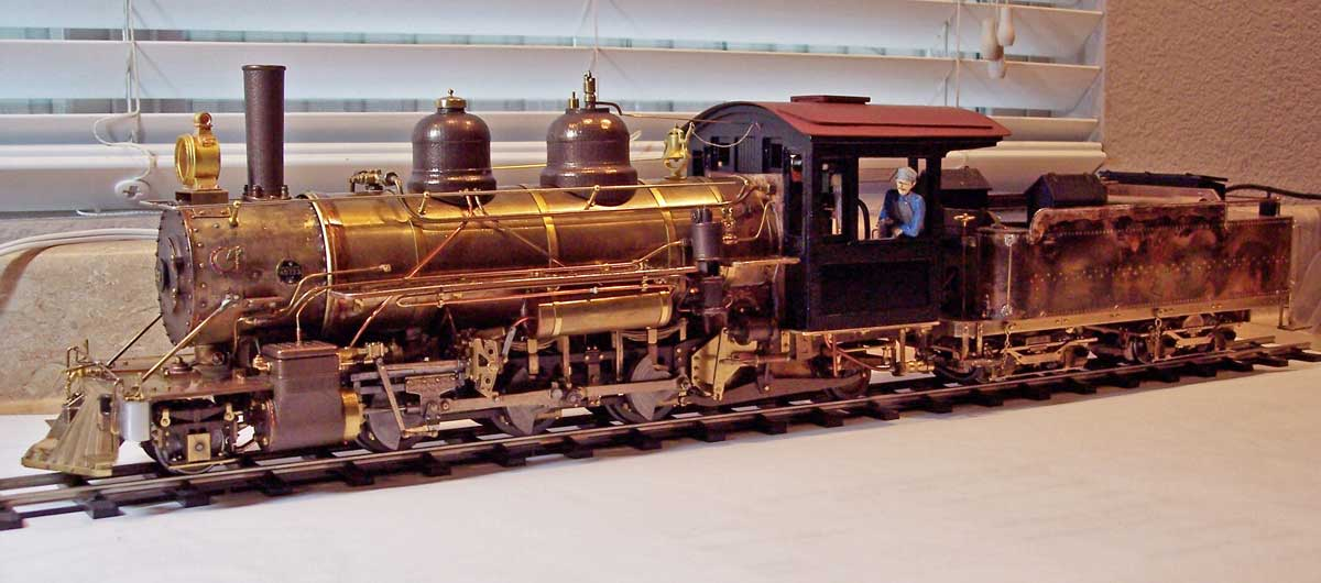 May 2016 - The largest 2-foot gauge steam locomotive to