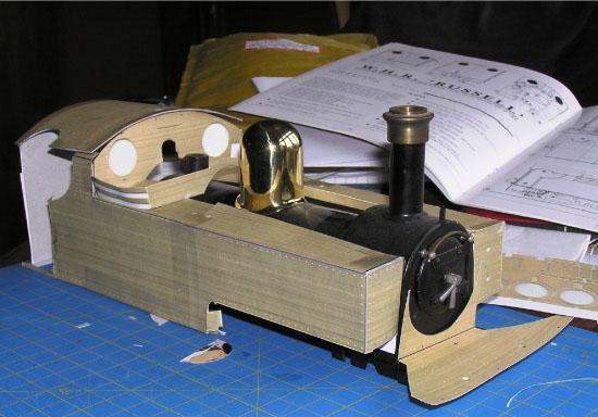 Cardboard bodywork