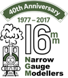 Association of 16mm Narrow Gauge Modellers Logo